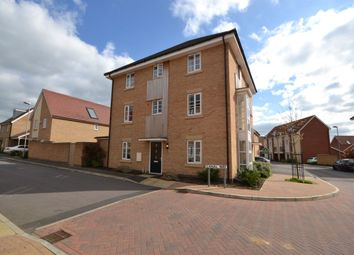 Thumbnail 4 bed semi-detached house for sale in Canal Way, Northampton