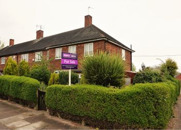 Thumbnail 4 bedroom end terrace house for sale in Trowell Avenue, Nottingham