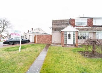 Thumbnail 2 bed bungalow for sale in Cranwell Road, Hartlepool