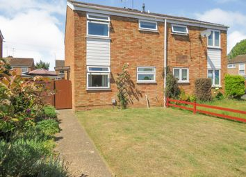 Thumbnail 3 bed semi-detached house for sale in Winston Close, Leighton Buzzard