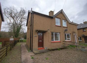 Thumbnail 2 bed semi-detached house for sale in Weetwood Avenue, Wooler, Northumberland