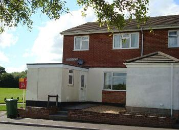 Thumbnail 3 bed end terrace house to rent in Epping Close, Warminster, Wiltshire
