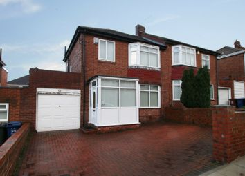 Thumbnail 3 bedroom semi-detached house for sale in Bellister Grove, Newcastle Upon Tyne, Tyne And Wear