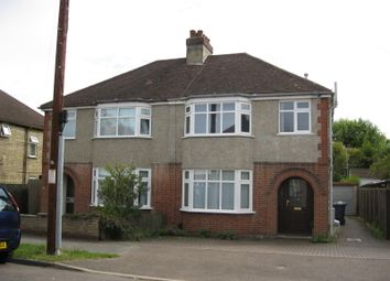 Thumbnail 4 bed semi-detached house to rent in Perne Avenue, Cambridge