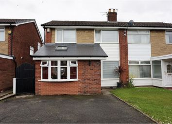 Thumbnail 3 bedroom semi-detached house for sale in Esthwaite Drive, Manchester