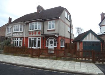 Thumbnail 4 bed property to rent in Beverley Crescent, Bedford