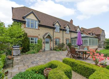 Thumbnail 5 bed detached house for sale in North Green, West Hanney, Wantage, Oxfordshire