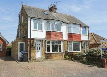 Thumbnail 4 bed semi-detached house for sale in Whitfield Avenue, Broadstairs