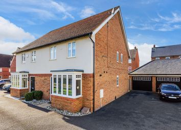 Thumbnail 3 bed semi-detached house for sale in Newman Road, Horley