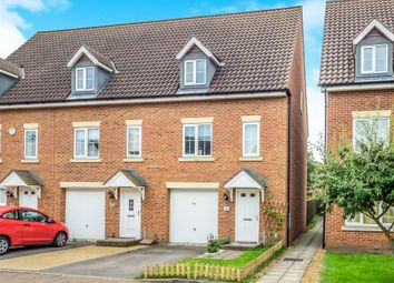 Thumbnail 3 bed town house for sale in Whistlefish Court, Norwich