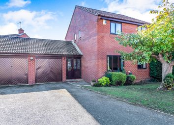 Thumbnail 4 bed detached house for sale in Wilford Avenue, Wakes Meadow, Northampton
