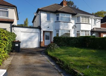Thumbnail 3 bed property to rent in Longmoor Road, Sutton Coldfield