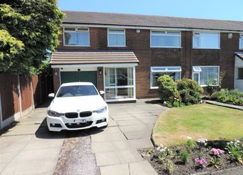 Thumbnail 4 bed semi-detached house for sale in Carnforth Avenue, Chadderton, Oldham