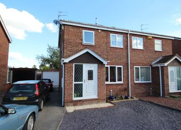 Thumbnail 3 bedroom semi-detached house for sale in Woburn Drive, Goole