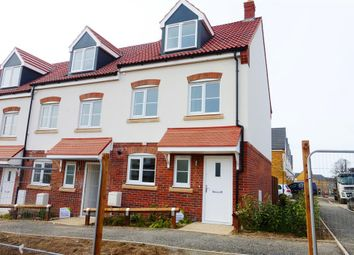 Thumbnail 3 bed property to rent in Heckford Road, Great Cornard, Sudbury