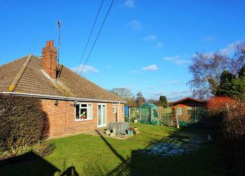 Thumbnail 4 bedroom detached bungalow for sale in Low Road, Stowbridge