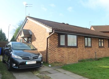 Thumbnail 2 bed semi-detached bungalow for sale in Sarnesfield Close, Manchester