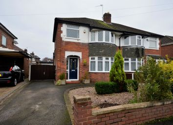 Thumbnail 3 bed semi-detached house for sale in Hawthorn Close, Timperley, Altrincham