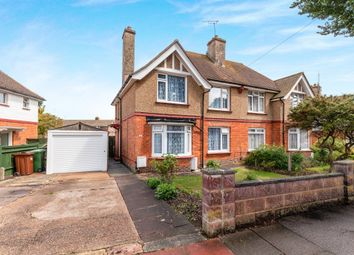 Thumbnail 3 bed semi-detached house for sale in The Crescent, Eastbourne