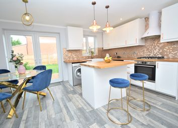 Thumbnail 3 bed semi-detached house for sale in Grebe Way, Whetstone, Leicester
