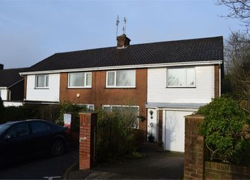 Thumbnail 3 bed semi-detached house to rent in Vivian Road, Sketty, Swansea