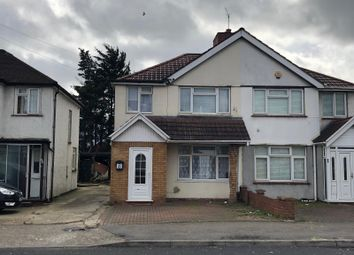 Thumbnail 4 bedroom semi-detached house for sale in Crowland Avenue, Hayes
