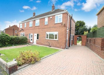 Thumbnail 3 bed semi-detached house for sale in Alandale Crescent, Garforth, Leeds