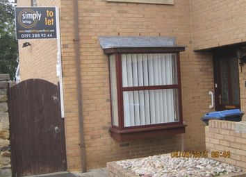 Thumbnail 2 bed semi-detached house to rent in The Anchorage, Church Chare, Chester Le Street
