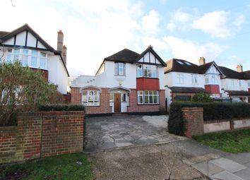 Thumbnail 4 bed detached house to rent in Cuddington Avenue, Worcester Park
