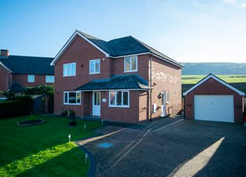 Thumbnail 4 bed detached house for sale in Trewern, Welshpool