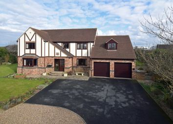 Thumbnail 5 bed detached house for sale in Potovens Lane, Wrenthorpe, Wakefield