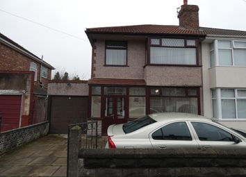 Thumbnail 3 bed semi-detached house for sale in Becontree Road, West Derby, Liverpool