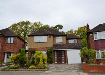 Thumbnail 4 bed detached house for sale in Anglesmede Crescent, Pinner