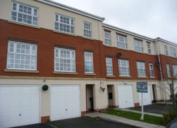 Thumbnail 3 bed town house to rent in Onyx Grove, Milton, Stoke-On-Trent