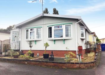 Thumbnail 2 bed mobile/park home for sale in The Firs, Cannock