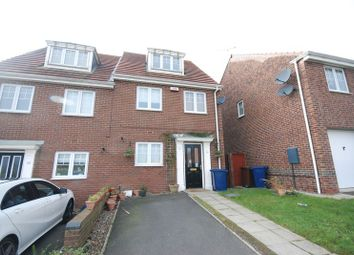 Thumbnail 3 bedroom town house to rent in Ashover Road, Kenton, Newcastle Upon Tyne