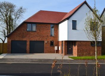 Thumbnail 5 bed detached house for sale in Sweechgate, Broad Oak, Canterbury, Kent