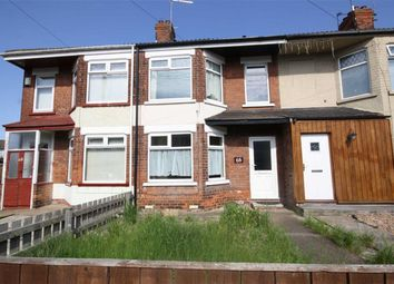Thumbnail 2 bed terraced house to rent in Rutland Road, Hull