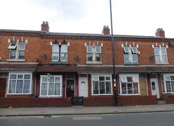 Thumbnail 3 bed terraced house for sale in Stoney Lane, Balsall Heath, Birmingham