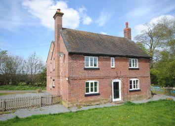Thumbnail 4 bed farmhouse to rent in Chipnal, Cheswardine, Market Drayton
