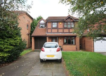 Thumbnail 4 bed detached house for sale in Flander Close, Widnes