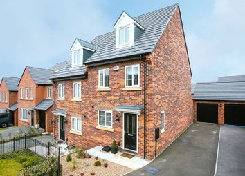 Thumbnail 3 bed semi-detached house for sale in Weavers Way, South Normanton, Alfreton