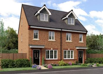 "Thumbnail 3 bedroom town house for sale in ""The Tolkien"" at Weldon Road, Cramlington"