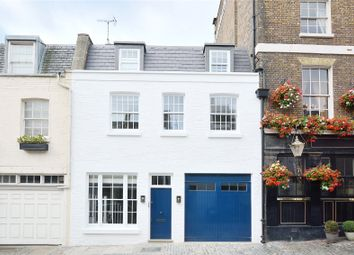 Thumbnail 3 bed mews house for sale in Belgrave Mews West, London