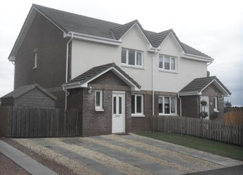 Thumbnail 3 bed semi-detached house for sale in Auldton Drive, Lesmahagow, Lanark
