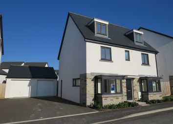 Thumbnail 5 bed detached house for sale in Broxton Drive, Plymstock, Plymouth