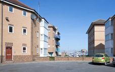 Thumbnail 1 bed flat to rent in Captains Walk, Hartlepool