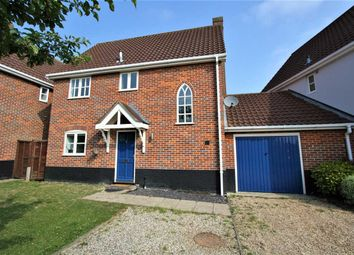 Thumbnail 3 bed link-detached house for sale in Bluebell Avenue, Bury St. Edmunds