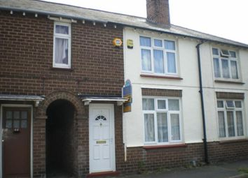 Thumbnail 2 bedroom terraced house to rent in Shirley Road, Rushden