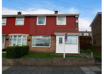 Thumbnail 2 bed semi-detached house for sale in Borrowdale Gardens, Gateshead
